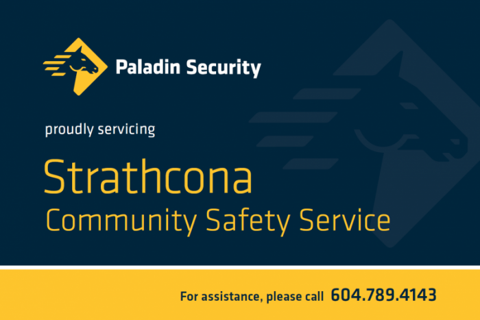 Paladin Security Postcard side one