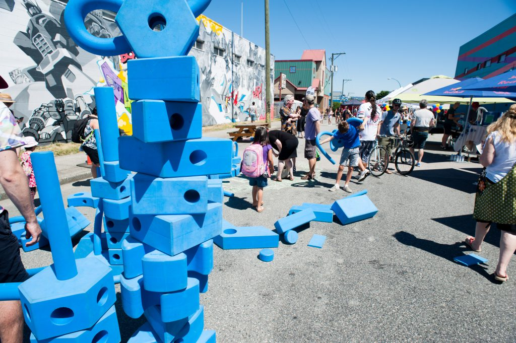 Activities at Strathcona Street Party