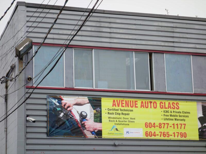 Exterior Shot of Avenue Auto Glass building at 636 Clark Drive
