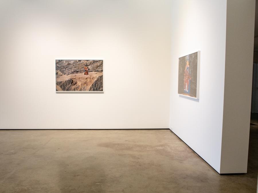 Works by Aaron Jones from exhibit Brobdingnangian at Howard495