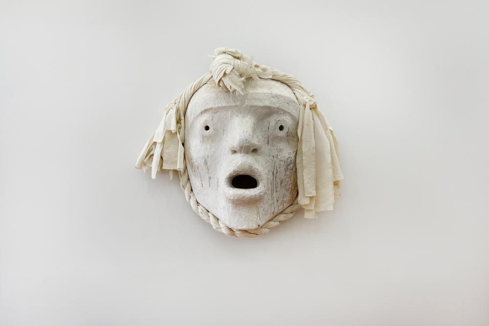Pookmis Mask by Beau Dick