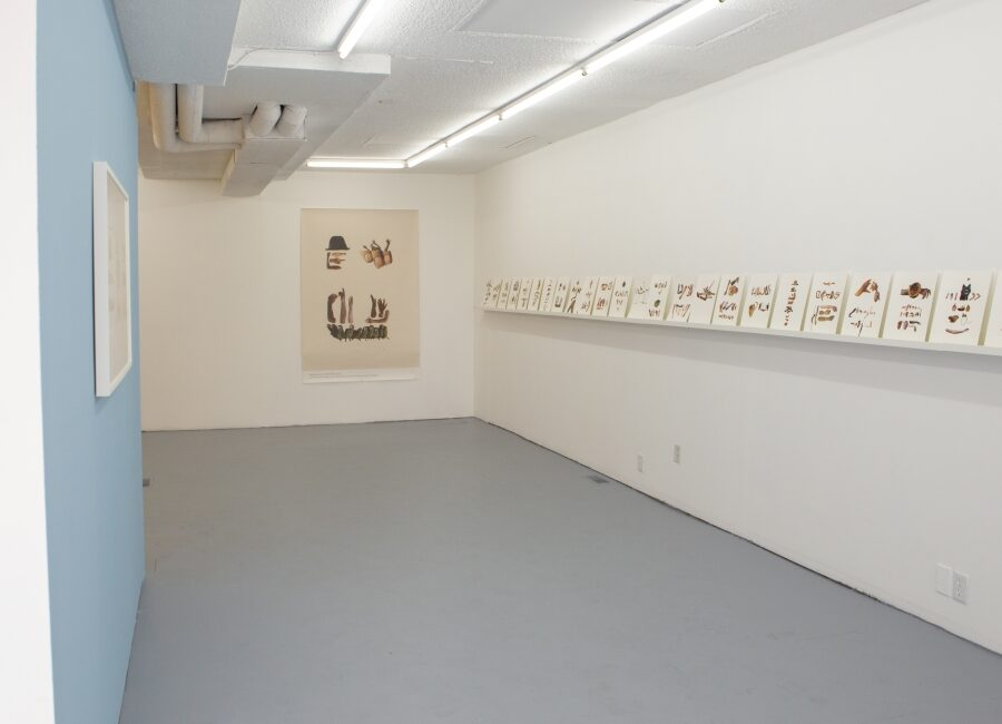 Artist Randy Lee Cutler's OTOH (On the Other Hand) exhibition at WAAP.