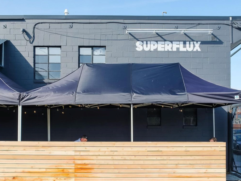 Superflux Beer Patio